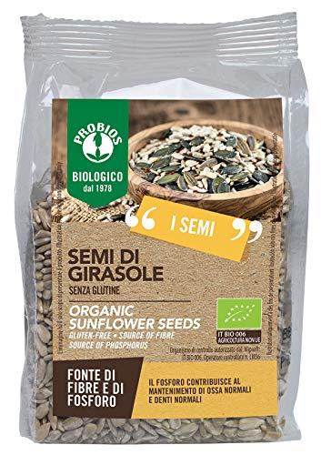 Probios semi di girasole senza glutine - 6 confezioni da  300 gr