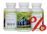 Acai Beere 10000mg - optimal dosiert 40:1 Konzentrat - Fitnessprodukt -...