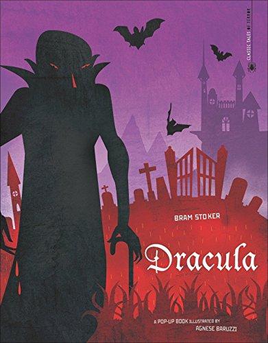 Dracula für Kinder - die Gruselgeschichte um Graf Dracula für Kinder in einem modernen Pup-up Buch erzählt