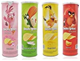#8: Angry Birds Potato Chips Mix Pack (100 gm Each) Sour Cream and Onion+Tangy Cheese+Sea Salt+Thai Style Pack of 4 Snacks Party Pack