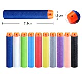 #4: Emob 30 PCS Universal Soft Eva Foam Darts Bullet for Toy Gun for All Gun(Assorted Color)
