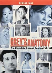 GREY'S ANATOMY: COMPLETE SECOND SEASON