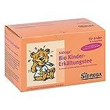 Sidroga Bio Kinder-Erkältungstee – Arzneitee mit Heilpflanzen bei Erkältung und Fieber – 20 Filterbeutel à 1,5 g