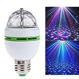 changement de couleur LED Lampe Stage, E273W RGB Magic rotatif ampoule ampoules coloré pour KTV, boule, Disco Party, Home humeur Ambiance d'éclairage