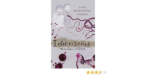 Inheritance Amazon Co Uk Lan Samantha Chang 9780297847960 Books