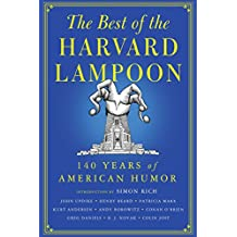 The Best of the Harvard Lampoon: 140 Years of American Humor (English Edition)