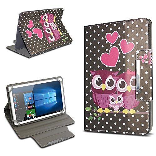 UC-Express Universal Tablet Schutz Hülle 10-10.1 Zoll Tasche Schutzhülle Tab Case Cover Bag, Motiv:Motiv 8, Tablet Modell für:ARCHOS 101c Platinum