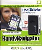 Handy Navigation incl. GPS-Empfänger Box-Verpackung