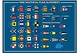 Iman Nevera Agencia De Viajes Vacaciones Alfabeto de banderas náuticas