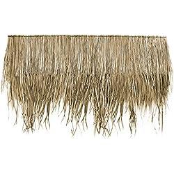 Lot de 10 Panneaux naturels (145 cm) pour toit de palme, toiture exotique, abri jardin, gazebo, parasol (10x12100)