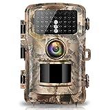 Campark Wildkamera Fotofalle 1080P FHD 14MP Jagdkamera 120°Weitwinkel Vision Infrarote IP56 Wasserdichtes Gehäuse für die Jagd und Heimtraining Fotofalle