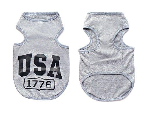 tore USA Cooles Jumper T-Shirt Hemd Weste Kleiner Hund Welpen Kleidung Hund Kostüm XS-XXL (Halloween Usa Store)