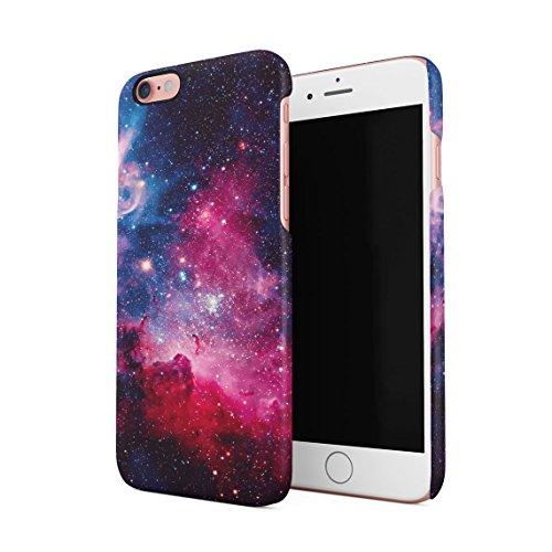 Space Sterne Galaxis Cute Sonne Solar System Tumblr Planets Dünne Rückschale aus Hartplastik für iPhone 6 Plus & iPhone 6s Plus Handy Hülle Schutzhülle Slim Fit Case cover Cosmic Dust