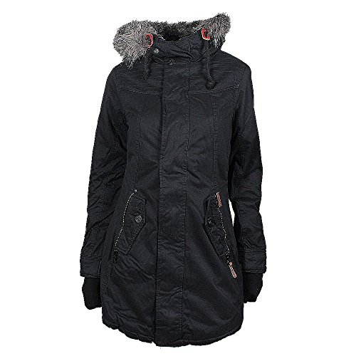 Khujo Ester giacca invernale nera, Frauen:L