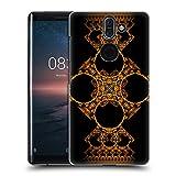 Head Case Designs Offizielle Sven Fauth Kreuz Gold Maori Ruckseite Hülle für Nokia 8 Sirocco