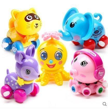 UChic - Juego de 5 piezas de juguete para bebé con movimiento hacia delante para correr o correr