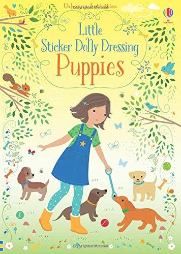 Little Sticker Dolly Dressing Puppies (Usborne Sticker Dolly Bücher)