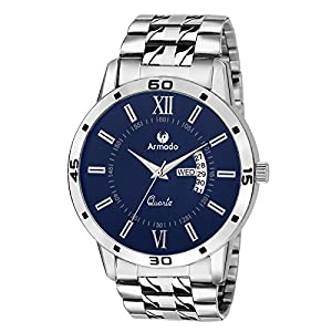 Armado Analogue Blue Dial Men's Watch – Ar-101-Blu