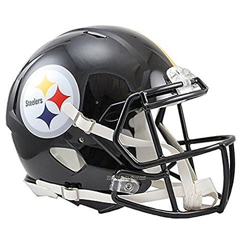 NFL Pittsburgh Steelers Official Mini Replica Helmet - 13cm Tall