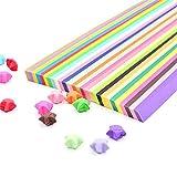 Caractéristiques: 1. 27 diverse couleur pour multiple et colorée bricolage fabrication étoile. 2. Peut être utilisé sur n'importe quel bricolage widly handcraft projets. 3. Pour le divertissement, vous pouvez plier le papier étoile origami avec les e...
