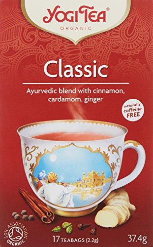 Yogi Tea Classic Tea 17 Teabags (Pack of 6, Total 102 Teabags)