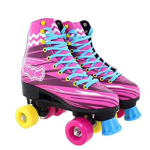 LET'S ROLLER SKATE Damen RETRO Rollschuhe Roller Skates Inliner Inlineskates