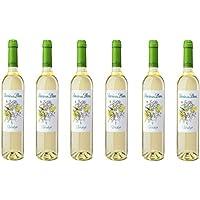 Señorío de los Llanos Verdejo. Vino Blanco - 6  Botellas x 750 ml- Total: 4500ml
