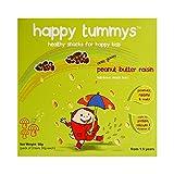 #7: Happy Tummys Nutritious Snack Bars - ooey gooey Peanut Butter Raisin - (3+1) bars x 30g
