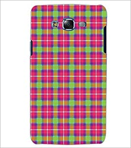 PrintDhaba Pattern D-5269 Back Case Cover for SAMSUNG GALAXY J7 (Multi-Coloured)