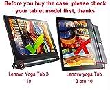 Lenovo YOGA Tab 3 Pro 10.1-Inch Étui Housse - IVSO Slim-Book Case Housse de Protection pour Lenovo YOGA Tab 3 Pro 10.1-Inch Tablette (Rouge)