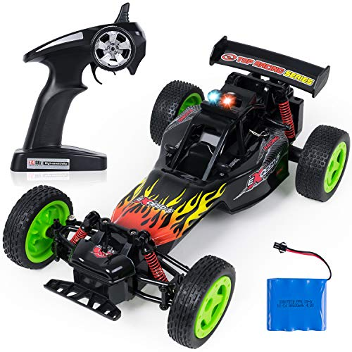 SGILE RC Car - High Speed Remote Control Car Toy, 2.4Ghz Rechargeable Racing Buggy Truck Climber, Fast Electric Crawlers Off-Road Rock Vehicle Drift Runners Monster, Gift for Kids Adults