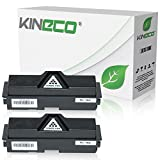 2 Toner kompatibel zu Kyocera TK-160 TK160 für Kyocera Ecosys P2035DN, Ecoxys P2000 Series, FS-1120DN - 1T02LY0NL0 - Schwarz je 2.500 Seiten