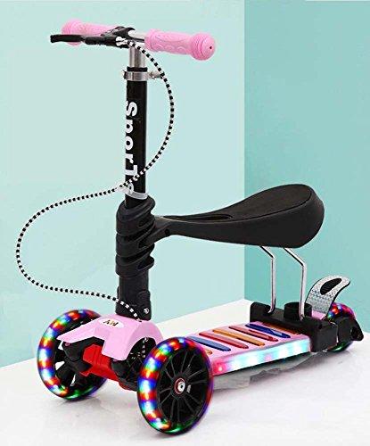 Kinderroller 2-3-6-9 Jahre Altes Kind Yo Fahrrad Drei Oder Vier Rad Roller Baby Kann Roller Roller Fahren.