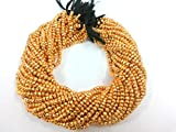 LOVEKUSH 50% Off Gemstone Jewellery Beautiful Golden Pyrite Rondelle Faceted Strands, Natural Pyrite Gemstone Strands 24K Gold color, Semi Precious beads in Wholesale Rates 13 inches. Code:- RADE-2462