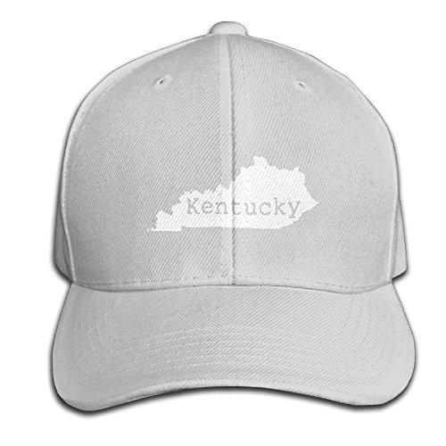 fboylovefor Kentucky Home Shape Logo Design Map Cool Snapback Hats Baseball Trucker Caps for Mens Womens Unisex