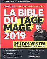 La Bible du TAGE MAGE - 9e édition 2019 - Visez plus de 500 - Fiches - 15 Tests blancs - Plus de 2200 questions + Vidéos de Franck Attelan