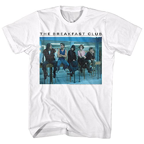 Official Breakfast Club Movie Poseted Up Adult T-Shirt