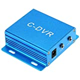 KKmoon Mini VGA DVR Grabador de Video Digital de Vigilancia y Seguridad Soporta Tarjeta TF Registro de Audio Detección de Movimiento para Cámara CCTV 1200TVL