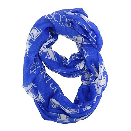 ncaa-kentucky-wildcats-new-logo-sheer-infinity-scarf-one-size-blue-by-littlearth