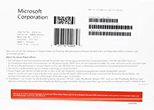 MS Windows 10 Pro 64bit DVD OEM (DE)
