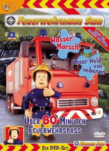 Feuerwehrmann Sam - Wasser Marsch!/Unser Held von nebenan [2 DVDs]