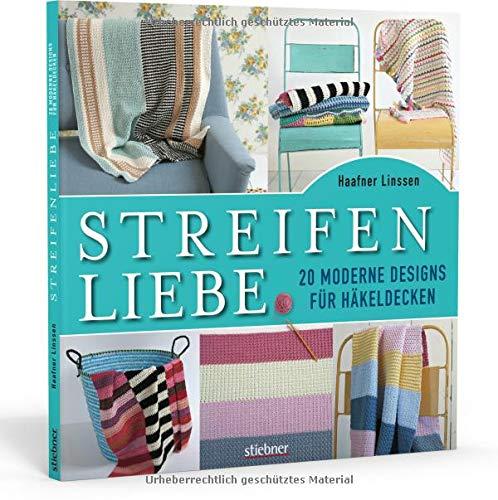 Streifenliebe: 20 moderne Designs für Häkeldecken - Decken Häkeln