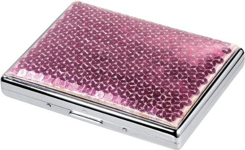 Abbildung: Visol Produkte Marley Pailletten-Zigarette Fall, Pink