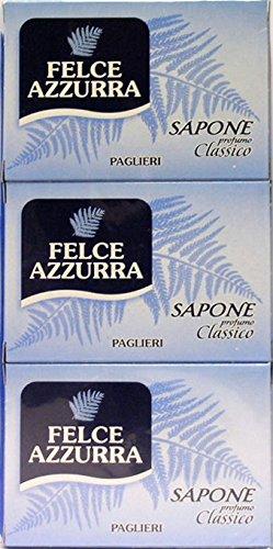 12 x Felce Azzurra Savon Parfum classique 300 gr