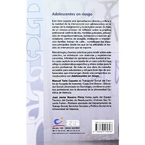 Adolescentes en riesgo: Casos prácticos y estrategias de intervención socioeducativa (Educar)