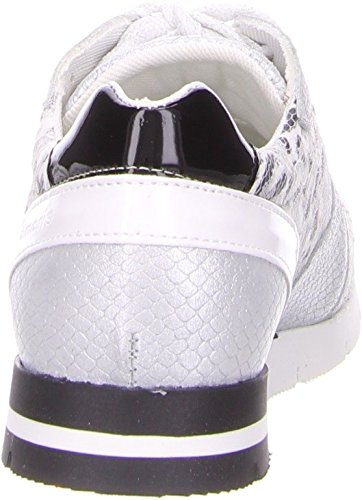 Tamaris 1-23635-35-982, Sneaker donna Grigio grigio Bianco