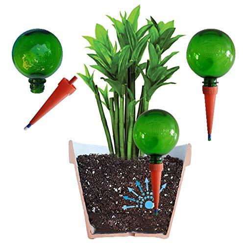 Plantpal Globe d'arrosage Automatique avec piquets pour Plantes -