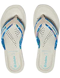 6371395ef03 Amazon.fr   Turquoise - Tongs   Chaussures femme   Chaussures et Sacs