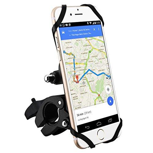 Soporte Bicicleta Magnética Universales de Móvil y Cámara Deportiva, Mpow Soporte de Teléfonos para Bicicleta Compatible con Motocicleta / Manillares de Bicicletas, iPhone 7/ 7Plus/6 / 6s | 6 / 6s Plus | 5 | 5s | Galaxy S4 / S5 / S6 Edge | Note 5 |