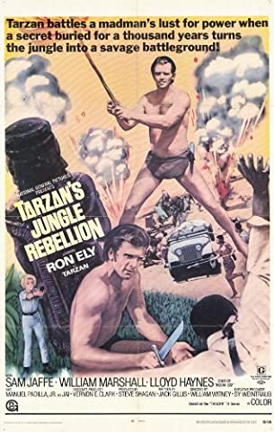 Tarzan's Jungle Rebellion Affiche du film Poster Movie La rébellion de jungle de Tarzan (11 x 17 In - 28cm x 44cm) Style A